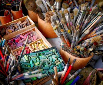 Peinture, pastel, encre, dessin...